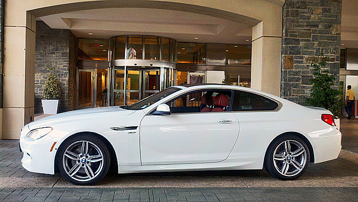 Cars Of Fall The Review 2012 Bmw 650i X Drive Out Front