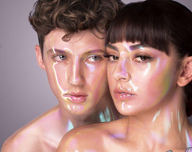 Charli XCX and Troye Sivan